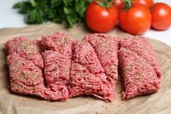 Viande hachée Photo stock