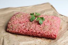 Viande hachée Image stock