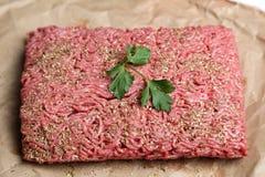 Viande hachée Photographie stock libre de droits