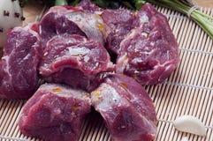 Viande hachée crue Photos libres de droits