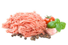 Viande hachée Photos stock