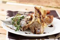 Viande préparée d'agneau photo stock