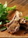 Viande préparée d'agneau images libres de droits