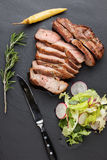 Viande rôtie de porc Image libre de droits