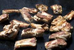 Viande sur le barbecue Photo libre de droits