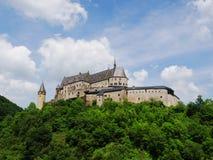 Vianden城堡 库存照片