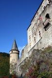 堡垒卢森堡vianden 库存照片