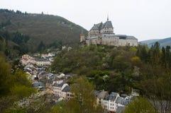 Vianden Castle - Λουξεμβούργο στοκ φωτογραφία με δικαίωμα ελεύθερης χρήσης