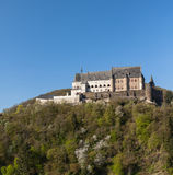 Vianden Castle in Luxembourg. Castle in the city of Vianden in Luxembourg Stock Image