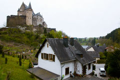 Vianden Castle - Luxembourg Royalty Free Stock Image