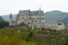 Vianden Castle - Luxembourg Stock Images