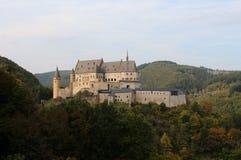 Vianden Castle, Luxembourg Stock Images