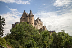 Vianden Castle Royalty Free Stock Images