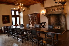 Vianden-Chateau, Luxemburg Lizenzfreies Stockbild