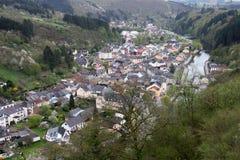 Vianden, das Großherzogtum von Luxemburg Lizenzfreies Stockbild