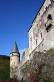 Vianden Fortress Luxembourg Stock Photo