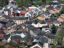 Vianden, het Groothertogdom Luxemburg Royalty-vrije Stock Foto