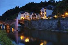 Vianden - Luxemburg Stock Afbeelding