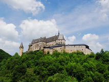 Vianden slott Arkivfoto