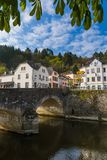 Vianden village in Luxembourg Royalty Free Stock Images