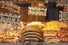 Viandes grillées Photo libre de droits