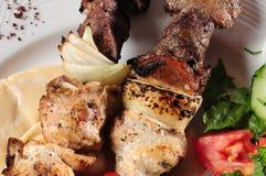 Chiche-kebab de Shish. photos stock