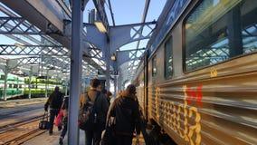 Viarail Canada. Location: Union Station , Toronto Royalty Free Stock Photography