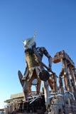 Viareggio狂欢节,意大利 免版税库存图片