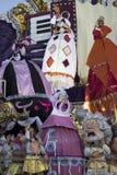 Viareggio狂欢节  免版税库存图片