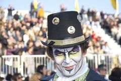 Viareggio的狂欢节 免版税库存照片
