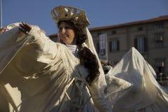 Viareggio的狂欢节 免版税库存图片
