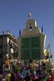 Viareggio的狂欢节 免版税图库摄影