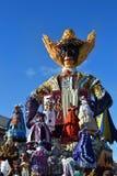 Viareggio καρναβάλι, Ιταλία Στοκ εικόνα με δικαίωμα ελεύθερης χρήσης