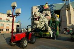 viareggio καρναβαλιού Ιταλία το&up Στοκ φωτογραφία με δικαίωμα ελεύθερης χρήσης