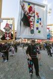 VIAREGGIO, ИТАЛИЯ - 19-ОЕ ФЕВРАЛЯ: одиночная форма symb Burlamacco Стоковые Фото