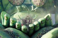 viareggio путешественников времени масленицы определенное Стоковое Изображение