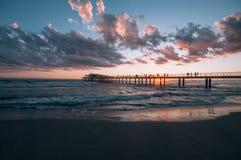 Viareggio Beach, Italy, Tuscany Royalty Free Stock Photos