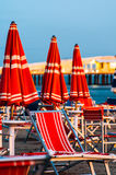 Viareggio Beach, Italy, Tuscany royalty free stock images