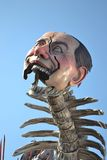 Viareggio berlusconi carnevale. Carnival of Viareggio  (carnevale di Viareggio) . A float representing prime minister Berlusconi. The carnival of Viareggio is Stock Photos