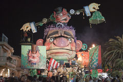 Viareggio Carnival Stock Photo