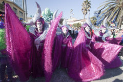 Viareggio Carnival stock photo
