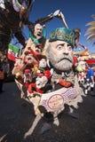 Viareggio Carnival royalty free stock images