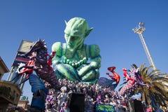 Viareggio Carnival royalty free stock photo