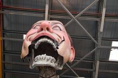 Viareggio carnival 's beginning Royalty Free Stock Image