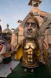 Viareggio carnival 's beginning Stock Photos