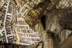 Viareggio carnival 's beginning, Tuscany Stock Photos