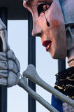 Viareggio, dernier défilé de carnaval de 2013 Photos stock