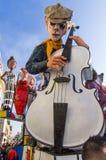 Viareggio, dernier défilé de carnaval de 2013 Image libre de droits
