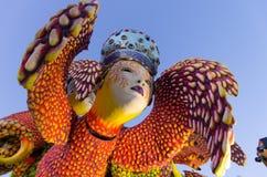Viareggio, desfile pasado del carnaval de 2013 Fotos de archivo libres de regalías