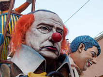 VIAREGGIO, ITALIA - 12 marzo: galleggiante allegorico a Viareggio C Fotografie Stock Libere da Diritti